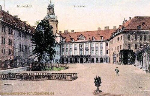 Rudolstadt, Schlosshof