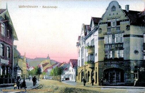 Waltershausen, Bahnhofstraße