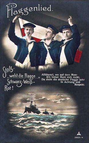 Flaggenlied: Stolz weht die Flagge Schwarz-Weiß-Rot