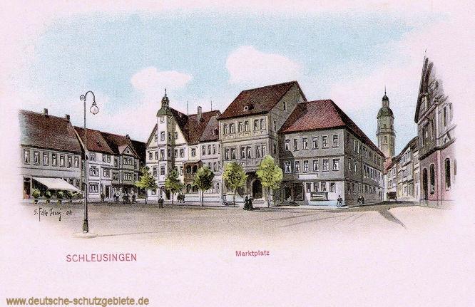 Schleusingen, Marktplatz