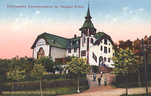 Neustadt, Oberschlesien, Etablissement Schwedenschanze