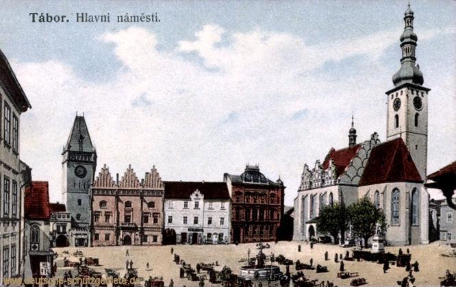 Tabor, Hlavní náměstí (Hauptplatz)