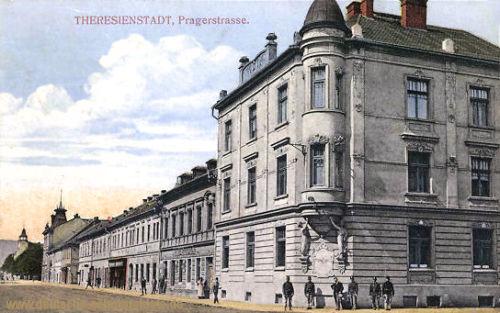 Theresienstadt, Pragerstraße