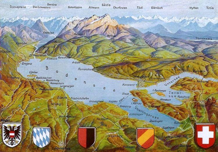Bodensee Panorama