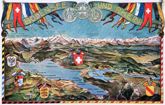 Bodensee und Rhein