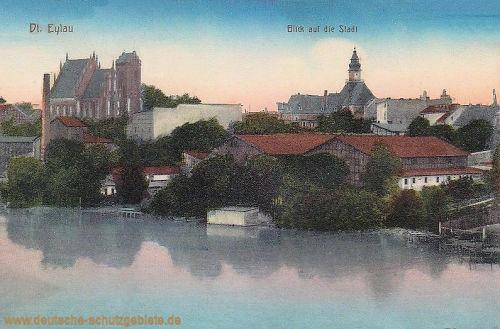 Deutsch-Eylau, Blick auf die Stadt