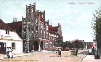 Dirschau, Neues Postgebäude