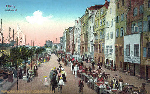 Elbing, Fischmarkt