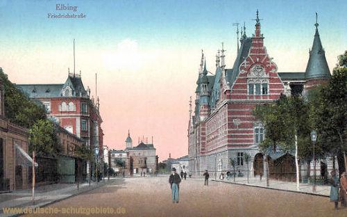 Elbing, Friedrichstraße