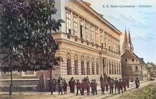 Gottschee, K. K. Staats-Gymnasium