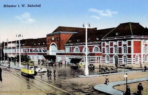Münster i. W., Bahnhof