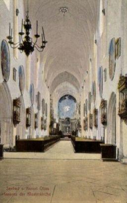 Oliva, Inneres der Klosterkirche