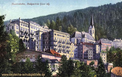 Bad Gastein, Tauernbahn