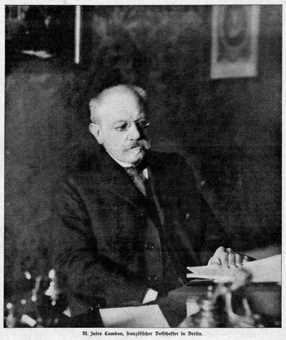 M. Jules Cambon, französischer Botschafter in Berlin.