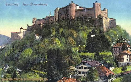 Salzburg, Feste Hohensalzburg