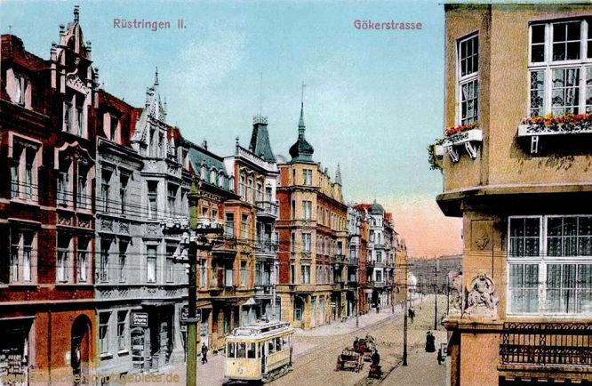 Rüstringen II. Gökerstraße