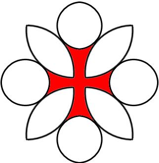 Templerkreuz, Entstehung Schritt 4