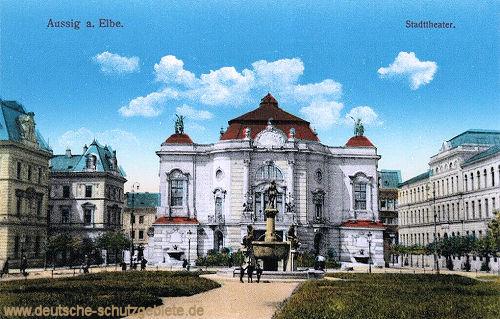 Aussig, Stadttheater