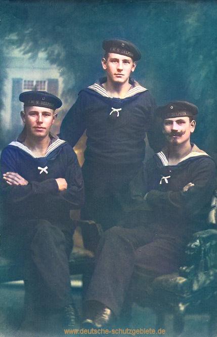S.M.S. Delphin Besatzungsmitglieder