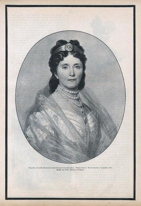 Kaiserin Augusta 1871