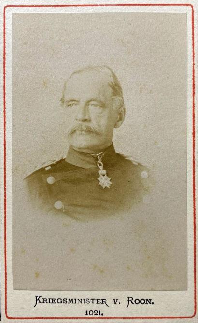 Kriegsminister von Roon