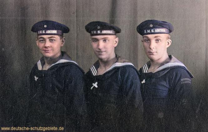 S.M.S. Arkona Besatzungsmitglieder