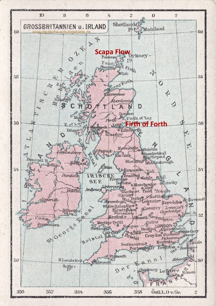 Firth of Forth und Scapa Flow