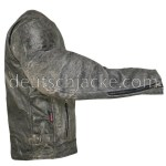 Grey Distressed Motorcycle Leather Jacket for Womens1