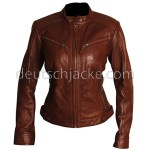 Slim Fit Women Brown Body Fitted