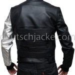 The Winter Soldier James Bucky Barnes Silver Arm Moto Vest.1