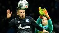 Das Duell zwischen Hertha und Schalke war nichts für Feinschmecker.