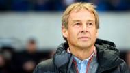 Für viele unverständlich: Jürgen Klinsmann gibt als Trainer in Berlin auf.