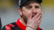 """""""Ich entschuldige mich bei meinem Verein, weil ich die Fresse halten sollte"""": Steffen Baumgart"""