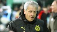 Im Mittelpunkt beim BVB: Dortmunds Trainer Lucien Favre