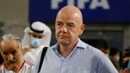 Muss sich Ermittlungen gefallen lassen: Fifa-Präsident Infantino.