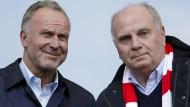Mit ihrem Rundumschlag haben sie Schaden angerichtet: Karl-Heinz Rummenigge (links) und Uli Hoeneß (Bild von 2018).