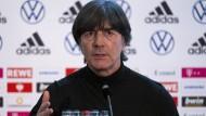 Ansprache an die Fußball-Nation: Bundestrainer Joachim Löw