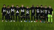 Männer für Menschenrechte: Statement des DFB-Teams zur Lage in Qatar
