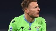So darf Europameister Ciro Immobile für Lazio Rom bald nicht mehr auflaufen.