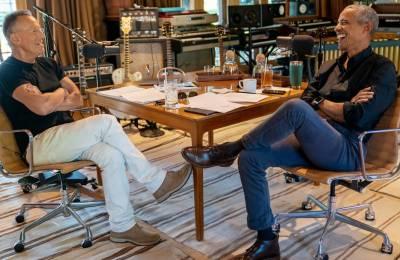 Barack Obama und Bruce Springsteen sind besorgt um Spaltung in USA und Europa