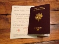 passeport et permis international