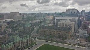 Vue d'Ottawa prise du Parlement
