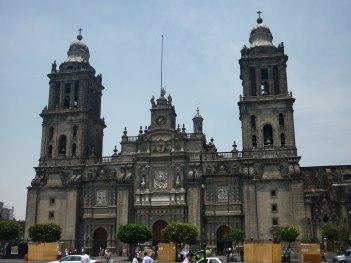 Cathédrale Métropolitaine - Zocalo Mexico