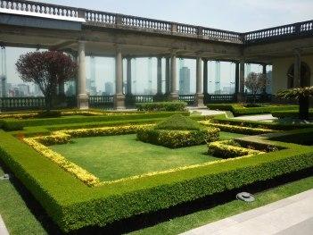 Jardin du Chateau - Bosque chapultepec