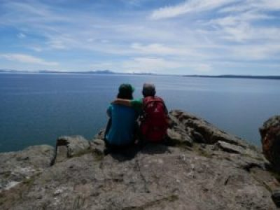 Deux Évadés au bord du lac Yellowstone