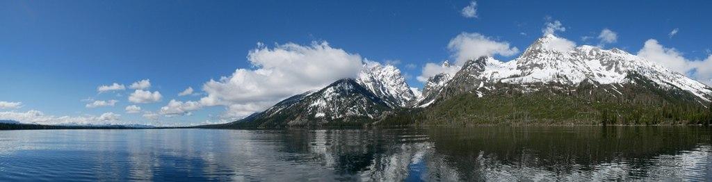 Jenny Lake à Grand Teton
