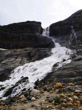 Bow glacier chutes d'eau