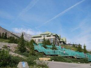 Centre des visiteurs champ de glace