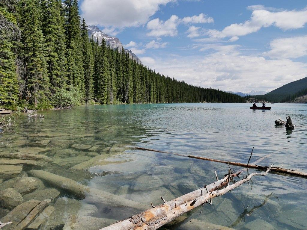 Lac Moraine à Banff