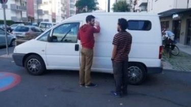 Récupération du van Europe in van avec Julien
